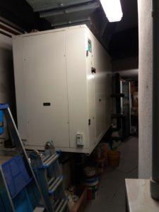 pompa di calore centrifuga senza unità esterna